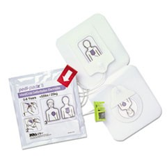 Zoll Pedi-Padz Ii Defibrillator Pads, Children Up To 8 Years Old, 2-Year Shelf Life