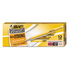 Xtra-Strong Mechanical Pencil, 0.9 mm, HB (#2.5), Black Lead, Yellow Barrel, Dozen