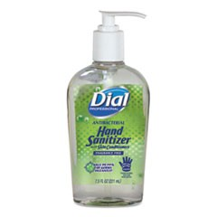 Antibacterial Gel Hand Sanitizer with Moisturizers, 7.5oz Pump Bottle, 12/Carton