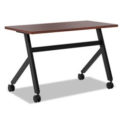 Multipurpose Table Fixed Base Table, 48w x 24d x 29 3/8h, Chestnut