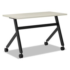 Multipurpose Table Fixed Base Table, 48w x 24d x 29 3/8h, Light Gray