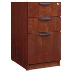 Valencia Box/Box/File Full Pedestal, 15 5/8w x 20 1/2d x 28 1/2h, Medium Cherry