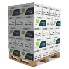 Deluxe Multipurpose Paper, 98 Bright, 20lb, 8.5 x 11, White, 500 Sheets/Ream, 10 Reams/Carton, 40 Cartons/Pallet