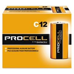 BATTERY,PROCELL,C,12/BOX