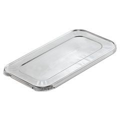 Steam Table Pan Foil Lid, Fits One-Third Size Pan, 6 3/5 x 1/2 x 12 7/10