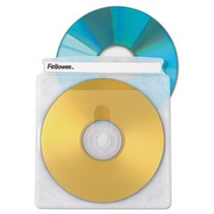 Two-Sided CD/DVD Sleeve Refills for Softworks File, 25/Pack