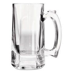 Beer Tankards, 10oz, Clear, 12/Carton, 12/Carton