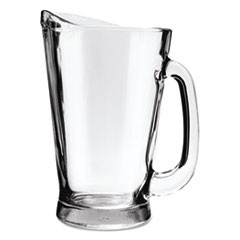 Beer Wagon Pitcher, 55oz, Clear, 6/Carton