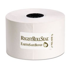 RegistRolls Point-of-Sale Rolls, 44mm x 165', White, 50/Carton