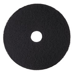 "Low-Speed High Productivity Floor Pads 7300, 18"" Diameter, Black, 5/Carton"
