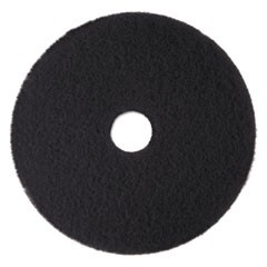 "Low-Speed High Productivity Floor Pads 7300, 15"" Diameter, Black, 5/Carton"