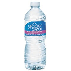 Purified Bottled Water, 0.5 L Bottle, 24/Carton