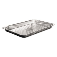 "Steam Table Aluminum Pan, Full-Size, 1 5/8"" Shallow, 50/Carton"