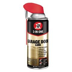 3-IN-ONE Professional Garage Door Lubricant, 11 oz Aerosol Can, 6/Carton