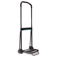 Ultra-Lite Folding Cart, 150lb Capacity, 9 3/4 x 11 Platform, Black
