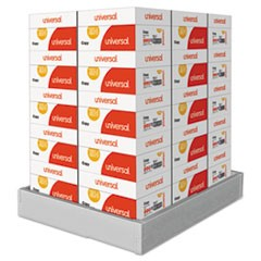 Copy Paper, 92 Bright, 20lb, 8.5 x 14, White, 500 Sheets/Ream, 10 Reams/Carton, 30 Cartons/Pallet