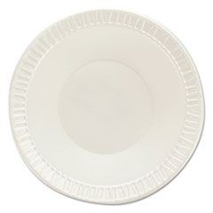 Quiet Classic Laminated Foam Dinnerware, Bowls, 3.5-4 oz, White, 125/PK, 8PK/CT