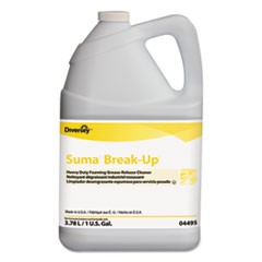 Suma Break-Up Heavy-Duty Foaming Grease-Release Cleaner, 1 gal Bottle, 4/Carton