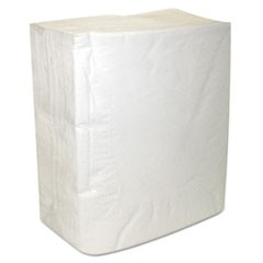 Select Dinner Napkins, 2-Ply, White, 16 3/4 x 14 3/4, 150/Pack, 20 Packs/Carton