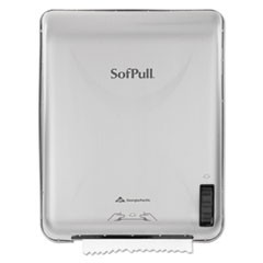 SofPull Recessed Mechanical Towel Dispenser, Stainless Steel, 15 x 10 x 18
