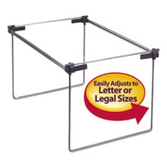 Smead Hanging Folder Frame, Letter/Legal Size, 12-24  Long, Steel, 2/Box