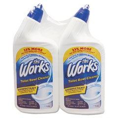 Disinfectant Toilet Bowl Cleaner, 32 oz Bottle, 2/Pack