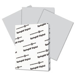 Digital Vellum Bristol Color Cover, 110 lb, 8 1/2 x 11, Gray, 250 Sheets/Pack