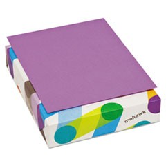 BriteHue Multipurpose Colored Paper, 20lb, 8.5 x 11, Violet, 500/Ream