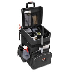 Executive Quick Cart, Large, 14 1/4 x 16 1/2 x 25, Dark Gray