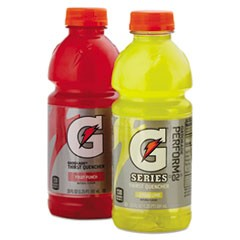 G-Series Perform 02 Thirst Quencher Fruit Punch, 20 oz Bottle, 24/Carton