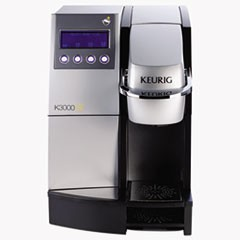 "K3000SE Commercial Brewer, 12""w x 18""d x 17 2/5"", Silver/Black"