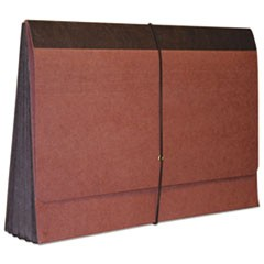 "Reinforced Redrope Expanding Wallet, 3 1/2"" Expansion, Legal, Redrope, 25/Carton"