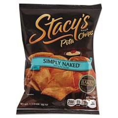 Pita Chips, 1.5 oz Bag, Original, 24/Carton