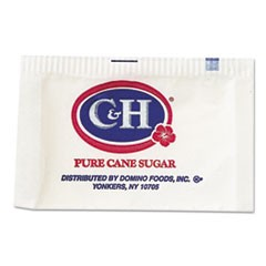 Granulated Sugar Packets, 0.1 oz, 2000/Carton