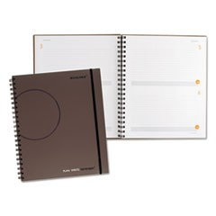 Plan. Write. Remember. Planning Notebook Two Days Per Page, 8 3/8 x 11, Gray