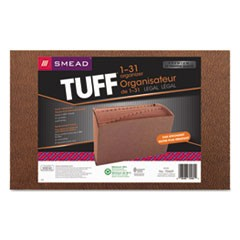 TUFF Expanding Files, 31 Sections, 1/31-Cut Tab, Legal Size, Redrope