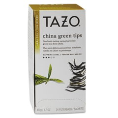 Tea Bags, China Green Tips, 24/Box