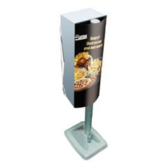 Mega Cartridge Napkin System Pole Mount Kit, Gray, 11.8 x 8.8 x 38.3