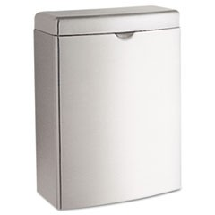 RECEPTACLE, WALL MNT