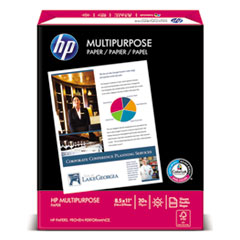 MultiPurpose20 Paper, 96 Bright, 20lb, 8.5 x 11, White, 500 Sheets/Ream, 5 Reams/Carton