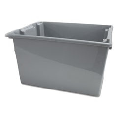 Palletote Box, 19.45gal, Gray