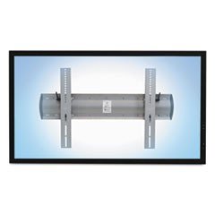 TM Tilting Wall Mount, 27.75w x 3.5d x 18.63h, Silver