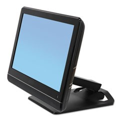 Neo-Flex Touchscreen Stand, 10 7/8 x 12 7/8 x 5 to 11 3/4, Black