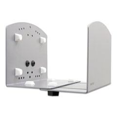 Vertical Universal CPU Holder, 2 to 8 x 10 x 6 5/8, Silver
