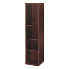 Series C Collection 18W 5 Shelf Bookcase, Hansen Cherry