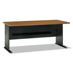 Series A Collection 72W Desk, Natural Cherry