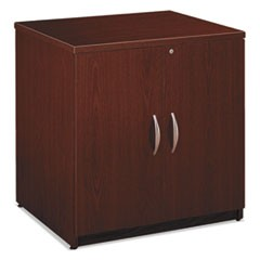 Series C Collection 30W Storage Cabinet, Mahogany