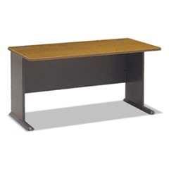Series A Collection 60W Desk, Natural Cherry