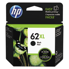 HP 62XL, (C2P05AN) High Yield Black Original Ink Cartridge