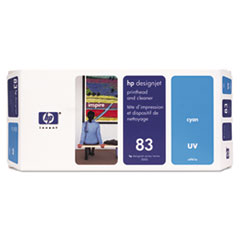 HP 83, (C4961A) UV Cyan Printhead & Cleaner